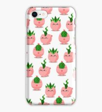 cat planter iPhone Case/Skin