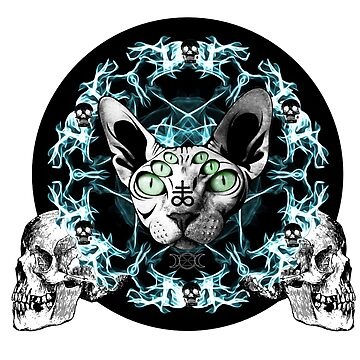 Occult Cats - PentaSphynx by GrimCraft