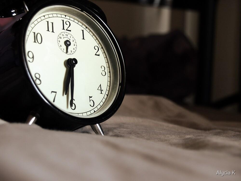 Clock by Alycia K