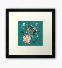 Lovely Forest Framed Print
