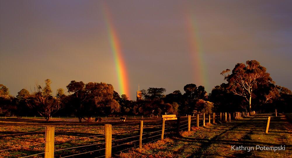 Rainbow delight by Kathryn Potempski