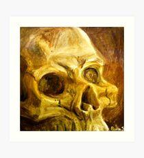 Expressing Death Art Print