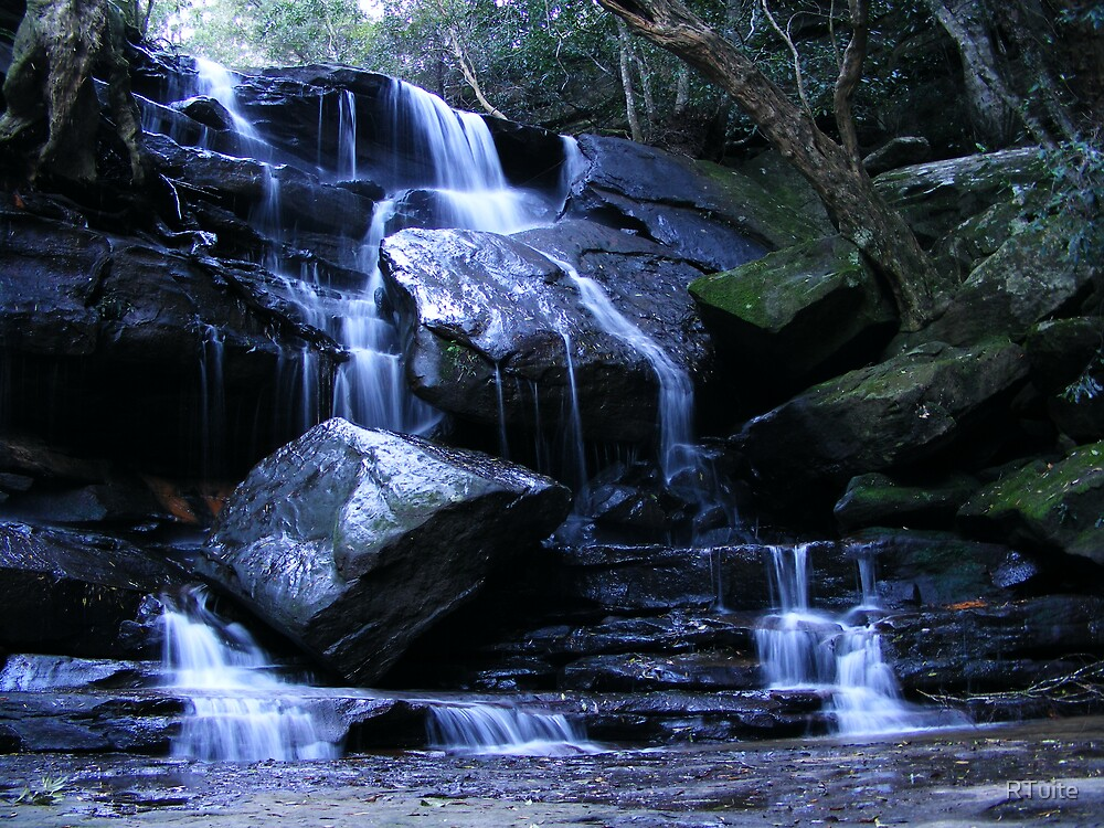Somersby Falls Australia by RTuite
