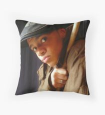MA MUSE Throw Pillow