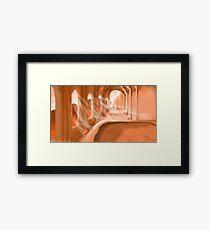 Martian Cathedral Framed Print