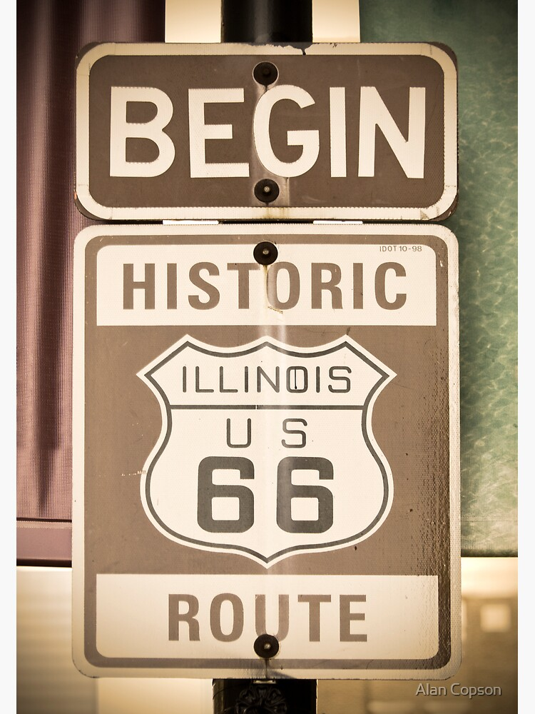 Route 66 - The Beginning by AlanCopson