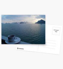 Cuppa at Halong Bay Postcards