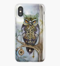 Clockwork Owl 1 iPhone Case
