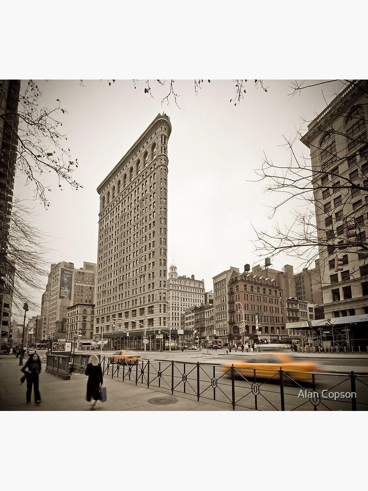 Flat Iron Building by AlanCopson