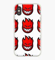 Spit Fire Devil iPhone Case