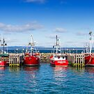 Fishing Boats by Keith G. Hawley