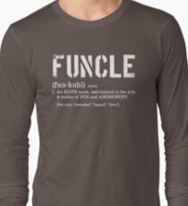 Funcle Fun Uncle Definition For Military Veterans Long Sleeve T-Shirt