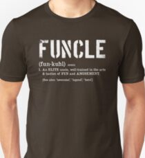 Funcle Fun Uncle Definition For Military Veterans Unisex T-Shirt