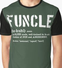 Funcle Fun Uncle Definition For Military Veterans Graphic T-Shirt