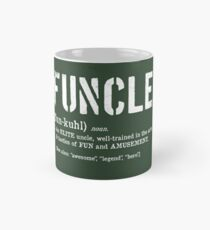 Funcle Fun Uncle Definition For Military Veterans Mug