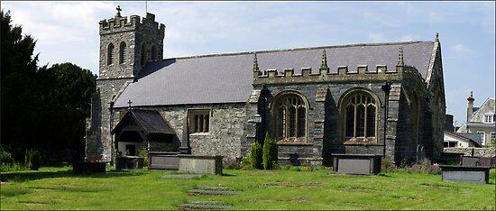 St Grwst's Church, Llanrwst,North Wales by Trevor Kersley