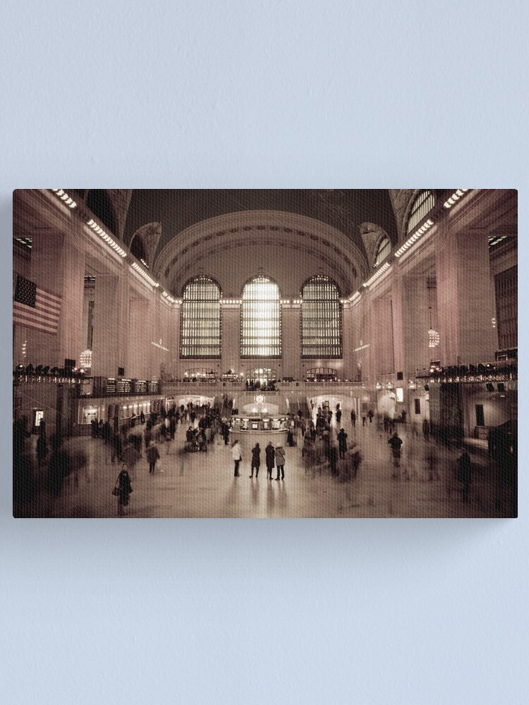 Alternate view of Grand Central Station. New York. Canvas Print