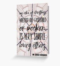 My Idea of Christmas Greeting Card