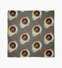 Vinyl Record Retro T-Shirt - Vinyl Records Modern Grunge Design Scarf