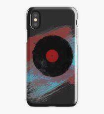 Vinyl Record - Modern Vinyl Records Grunge Design - Tshirt and more iPhone Case
