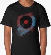 Vinyl Record - Modern Vinyl Records Grunge Design - Tshirt and more Long T-Shirt