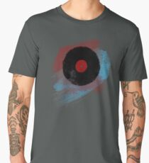 Vinyl Record - Modern Vinyl Records Grunge Design - Tshirt and more Men's Premium T-Shirt