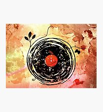 Enchanting Vinyl Records Grunge Art  Photographic Print