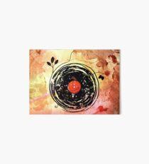 Enchanting Vinyl Records Grunge Art  Art Board