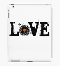 Love Vinyl Records iPad Case/Skin