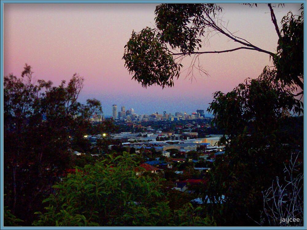 Brisbane View distant by jaycee