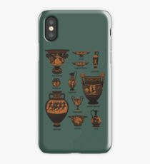 Ancient Greek Pottery iPhone Case/Skin