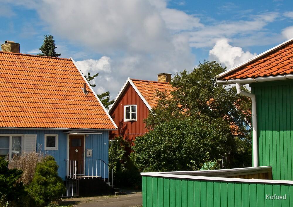 The Swedish Houses by Kofoed