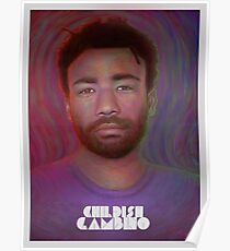 Donald Glover Painting 2 Poster