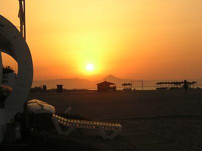Denia sunset by KatyaP