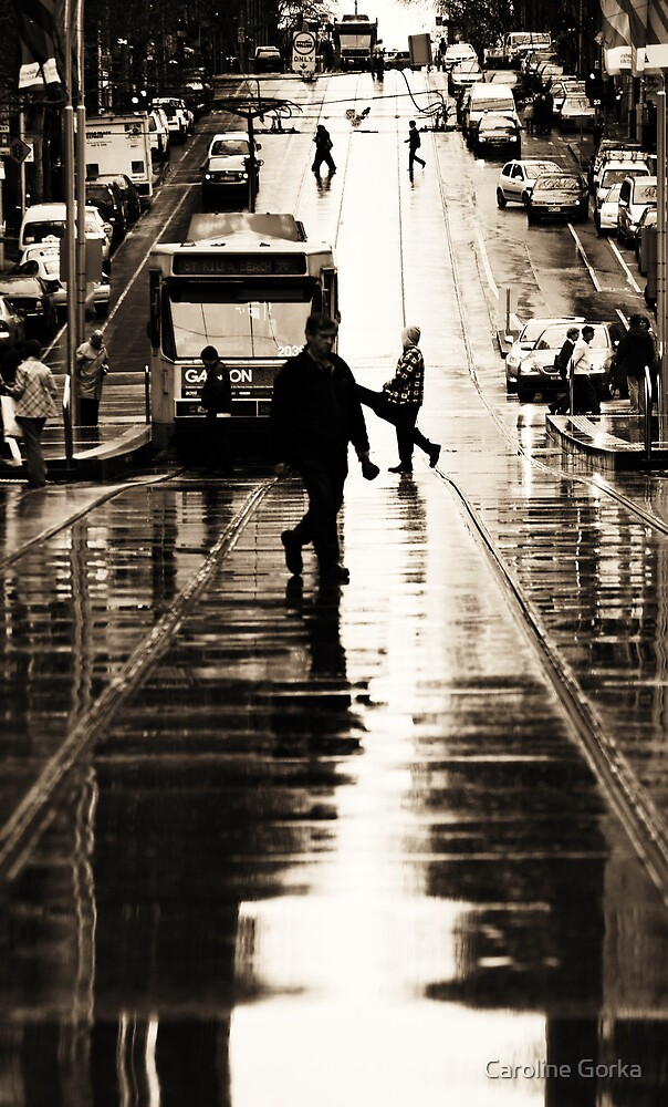 Street Walker2 by Caroline Gorka