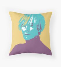Andy Warhol colourful | Icon Throw Pillow