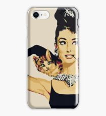 Breakfast at tiffany's | Audrey Hepburn iPhone Case/Skin
