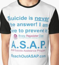 ASAP Support Graphic T-Shirt