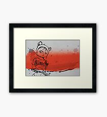 Bandito Framed Print