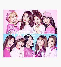TWICE TT/CHEER UP JAPANESE VER Photographic Print