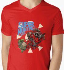 Super Hunting Bros Men's V-Neck T-Shirt