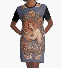 COSMIC LOVER - Color version Graphic T-Shirt Dress