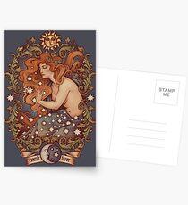 COSMIC LOVER - Color version Postcards