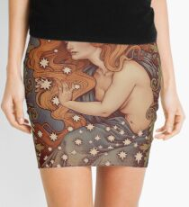 COSMIC LOVER - Color version Mini Skirt
