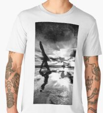 A walk with the dog Men's Premium T-Shirt