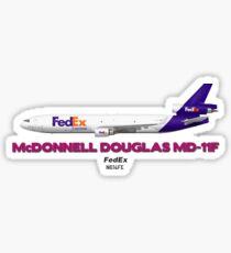 McDonnell Douglas MD-11F - FedEx  Sticker