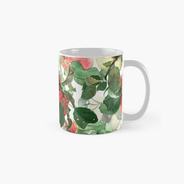 Watercolor apples Classic Mug
