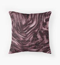 Rosewood velvet gem Throw Pillow