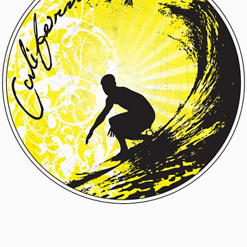 surfs up in cali by hamiltonarts