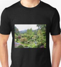 Butchart Garden in the Rain T-Shirt